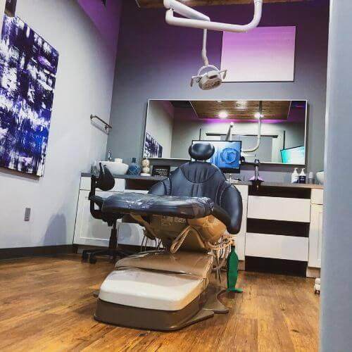 Breathe Modern Dentistry Modern Operatory Dentist Broken Arrow, OK